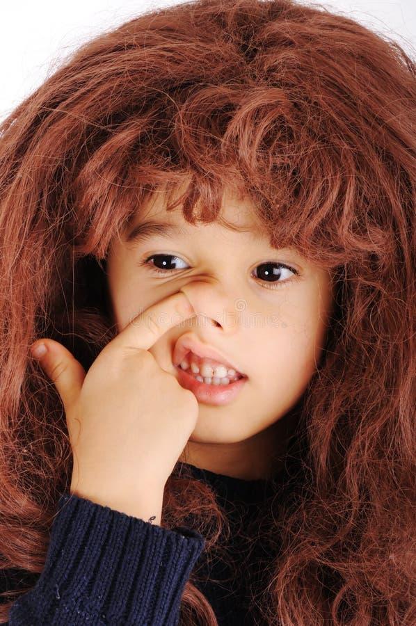 grubiański śmieszny dzieciak zdjęcia stock