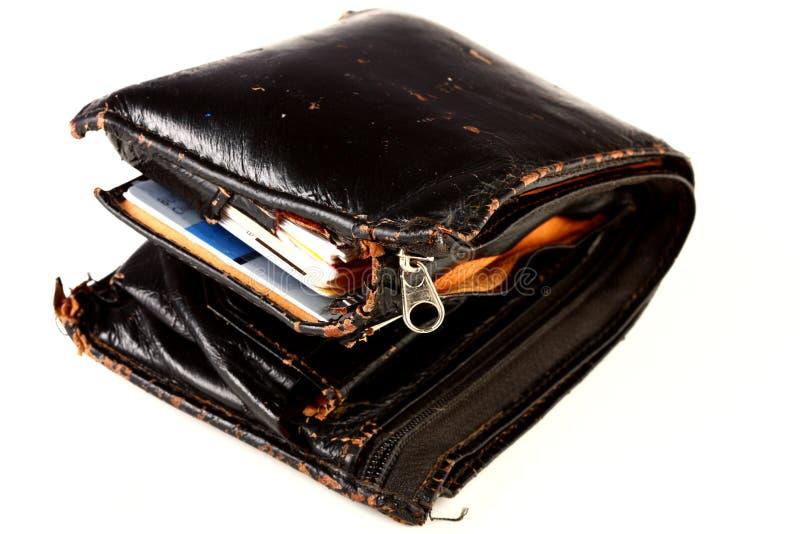 gruby portfel zdjęcie stock