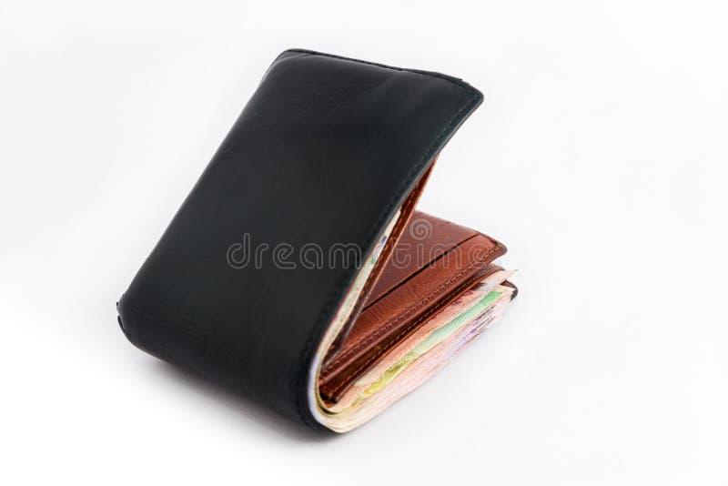 gruby portfel zdjęcia stock