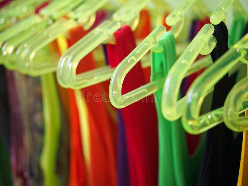 Gruccia per vestiti immagine stock libera da diritti