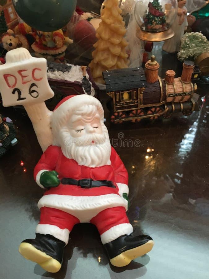 Grudzień 26 jest Santa sen dniem zdjęcie stock