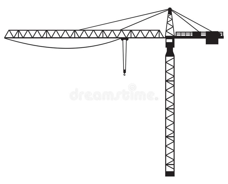 Grue illustration de vecteur