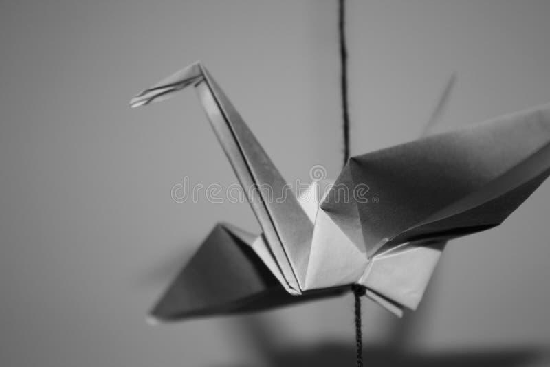 Grue abstraite photo stock