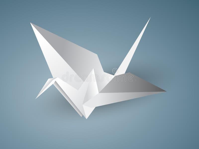 Grue d'Origami illustration libre de droits