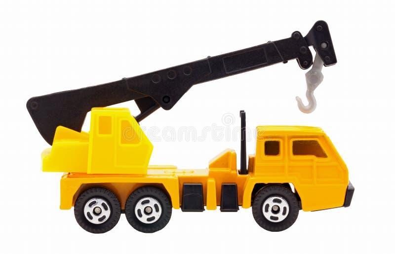 grue de camion de jouet photo stock image du transport 35562564. Black Bedroom Furniture Sets. Home Design Ideas