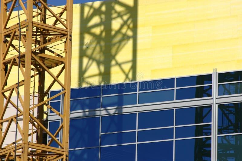 Grue de chantier de construction image libre de droits
