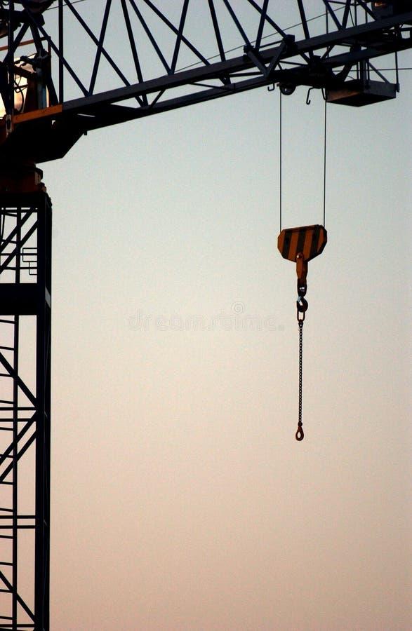 Grue de construction image libre de droits