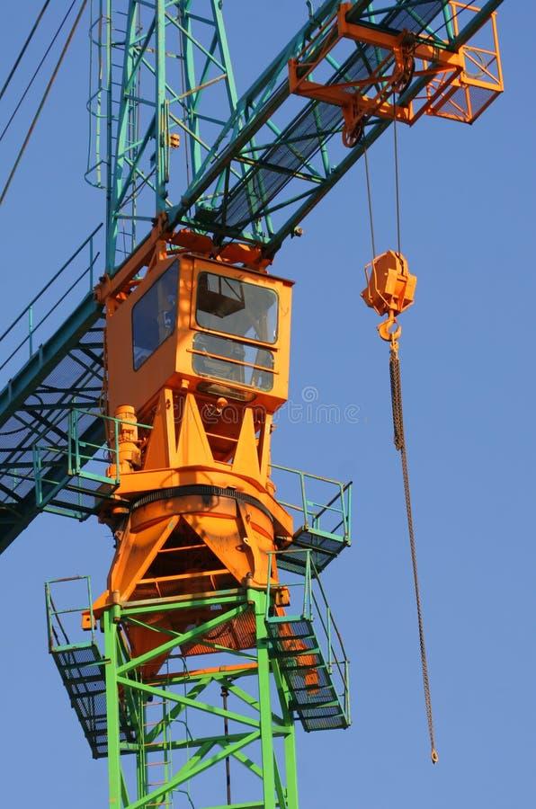 Grue de construction photographie stock libre de droits