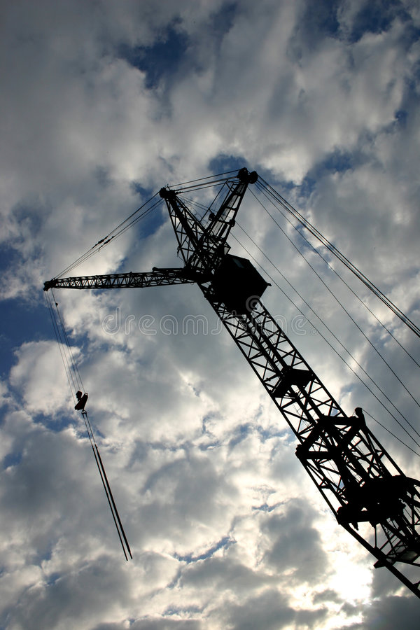 Grue de construction images stock