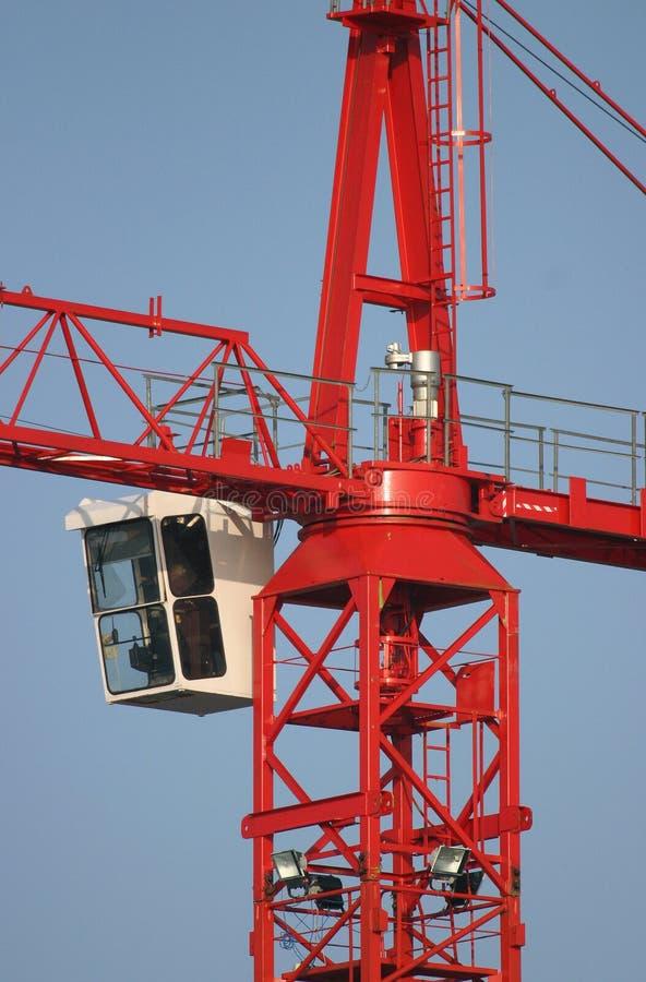 Grue de construction photo libre de droits