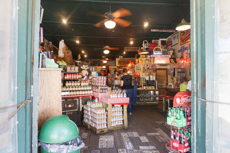 Gruene, γενικό κατάστημα TX στοκ εικόνα με δικαίωμα ελεύθερης χρήσης