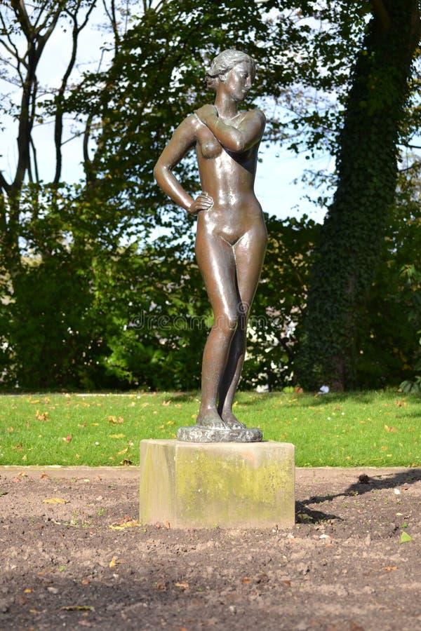 Grugapark da escultura fotografia de stock royalty free