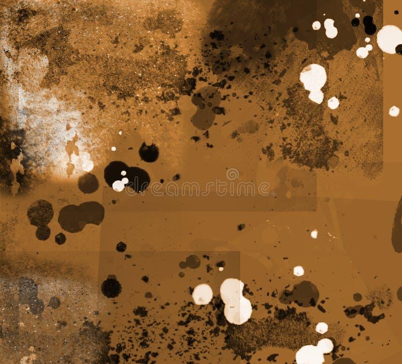 gruge rocznik tekstury ilustracja wektor