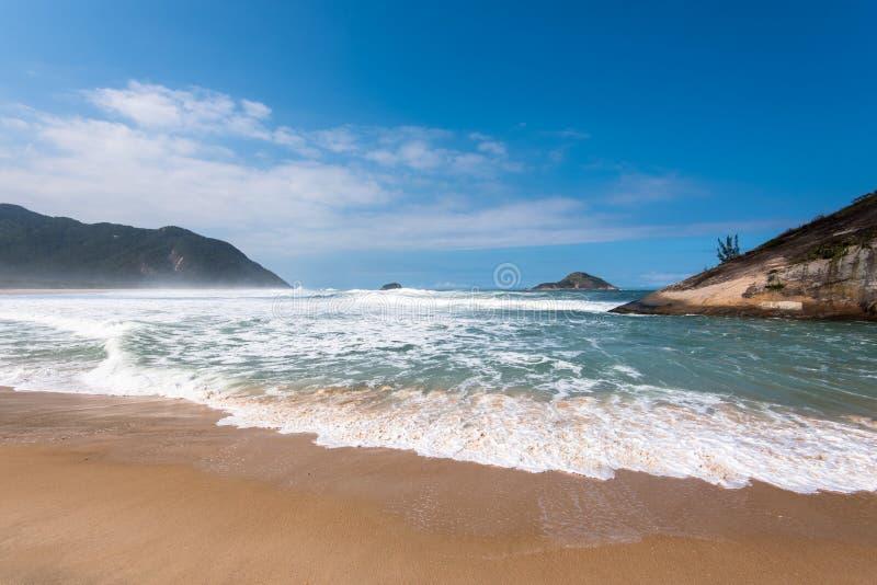 Grumari plaża obrazy stock
