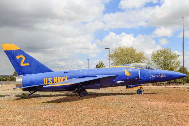 Grumman F11-F Tiger Navy Fighter Aircraft stock image