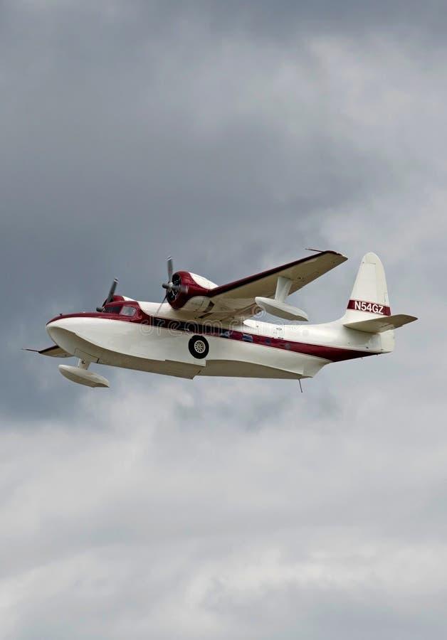 Grumman seaplane flying boat stock photography
