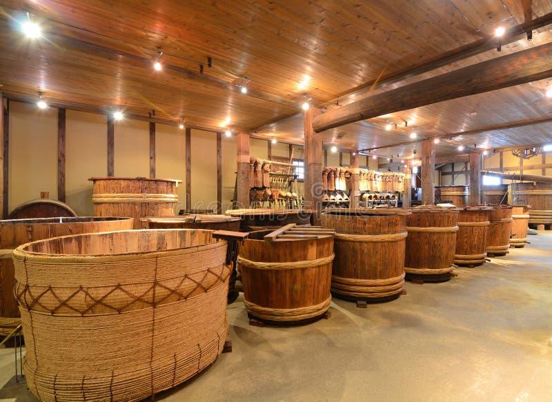 Grund-Brauerei stockfotos
