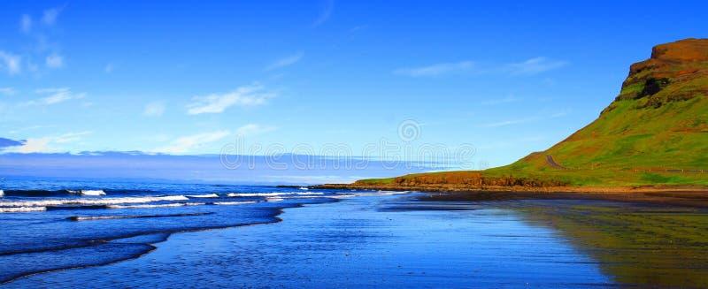 Grundarfjordur beach, Iceland royalty free stock images