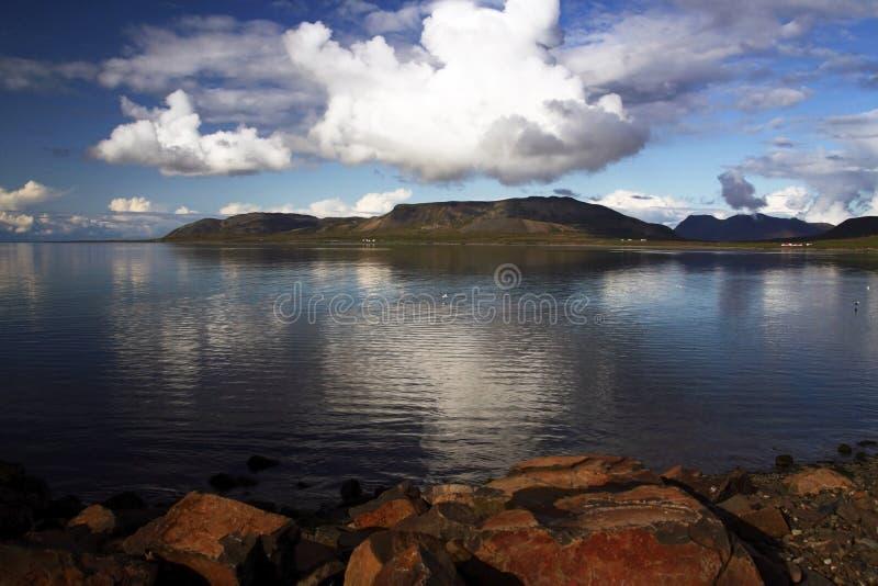 Grundarfjordur seaside view, Snaefellsnes, Iceland royalty free stock image