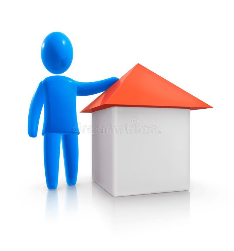 Grundbesitz lizenzfreie abbildung