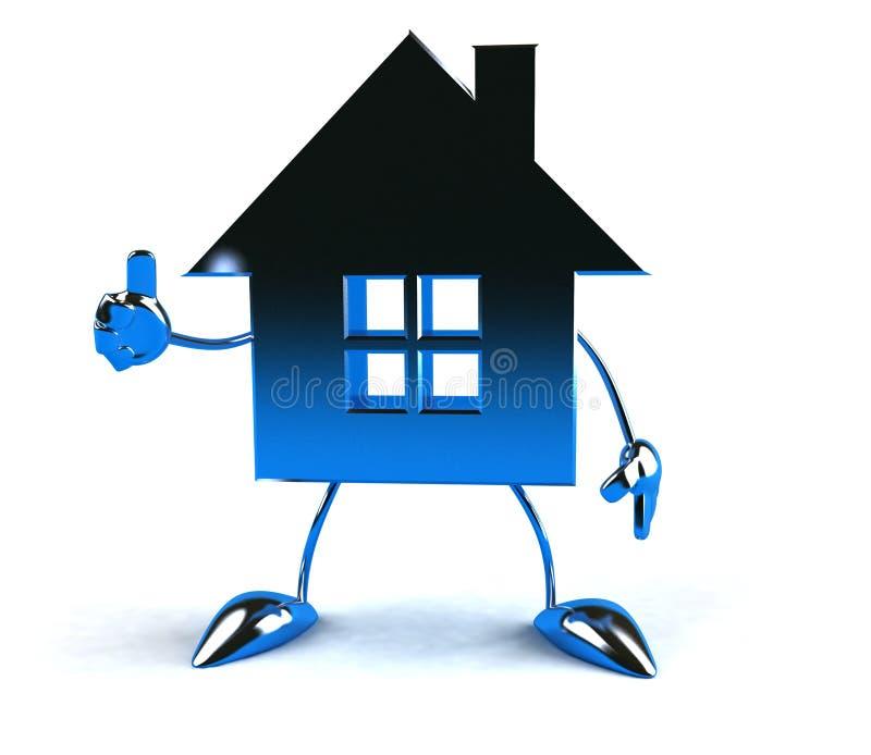 Grundbesitz stock abbildung