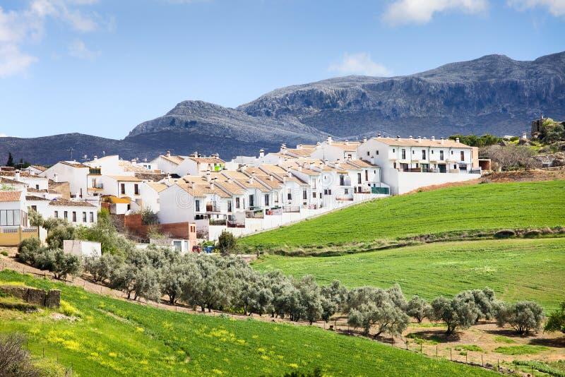 Grundbesitz-Entwicklung in Ronda stockfotos