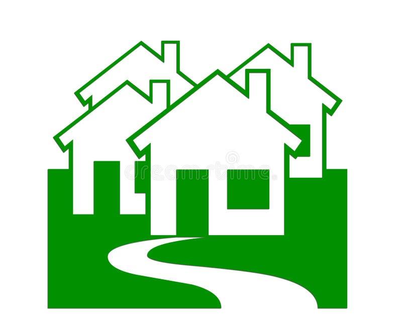 Grundbesitz/Häuser lizenzfreie stockfotos