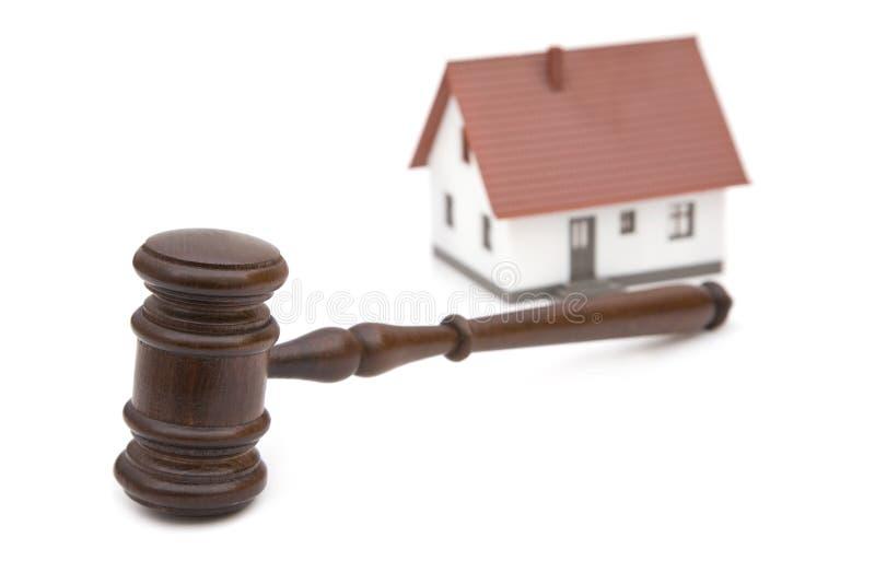 Grundbesitz und Gesetze lizenzfreies stockbild