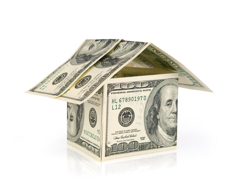 Grundbesitzfinanzierung stockfotos