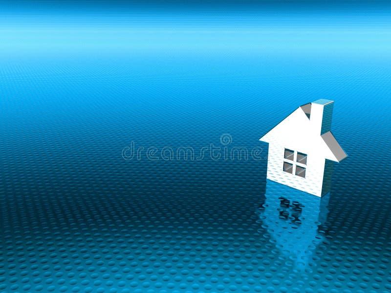 Grundbesitzhintergrund stock abbildung