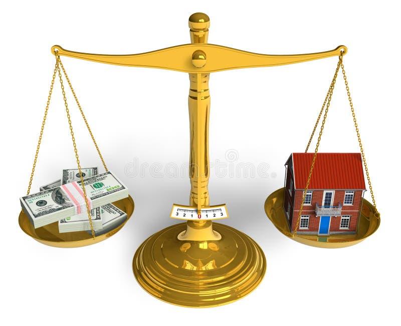 Grundbesitzkonzept lizenzfreie abbildung