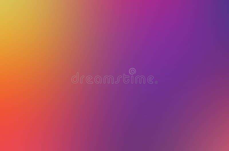 Grundfarbenfarben des blauen Grüns des bunten Hintergrundes der Regenschirmhintergrundunschärfe bunten färben purpurrote gelbe Th lizenzfreie abbildung
