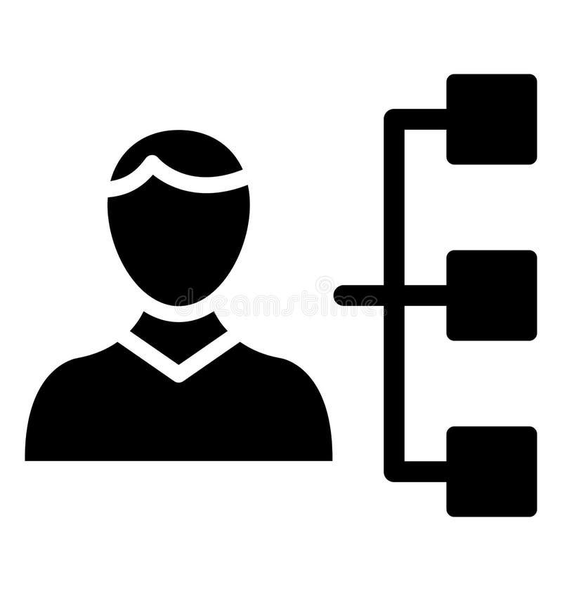 Grundläggande RGB-ledarskap isolerade vektorsymbolen som kan lätt ändra eller redigera stock illustrationer