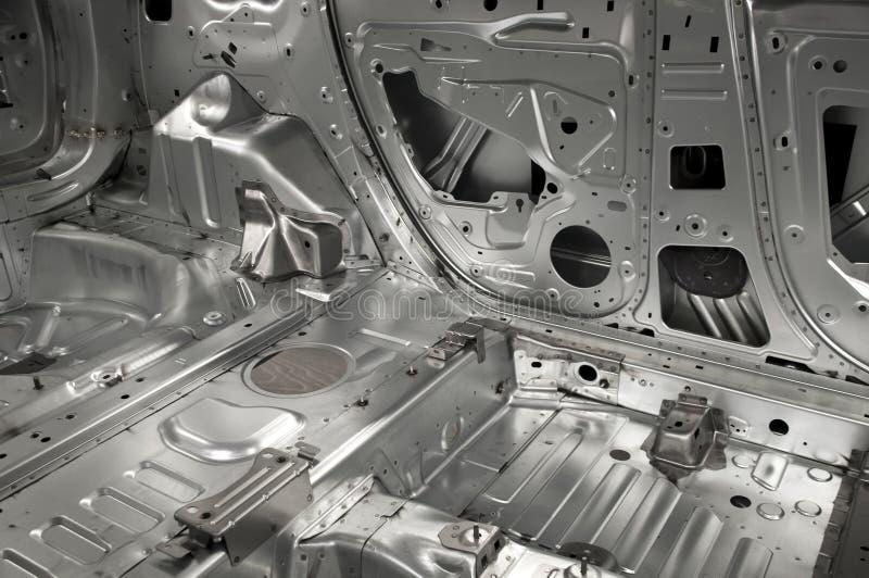 Grundlegendes Innenskelett eines Autos stockfoto