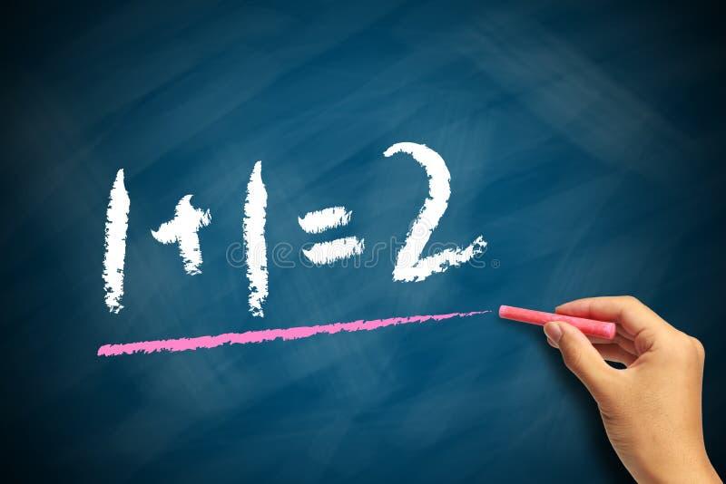 Grundlegendes Mathe lizenzfreie stockfotos