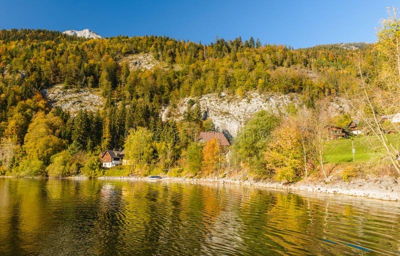 Grundlsee, Styria, Áustria fotos de stock royalty free
