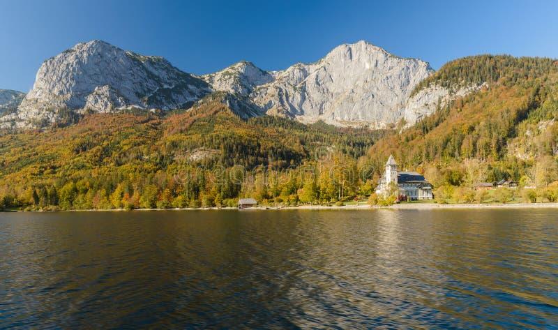 Grundlsee, Styria, Áustria imagem de stock