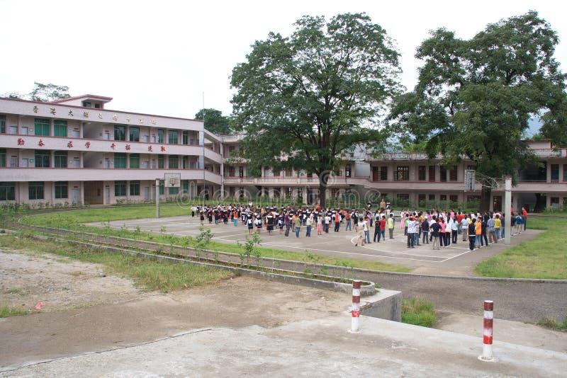 Grundskola för barn mellan 5 och 11 årstudenter arkivfoto