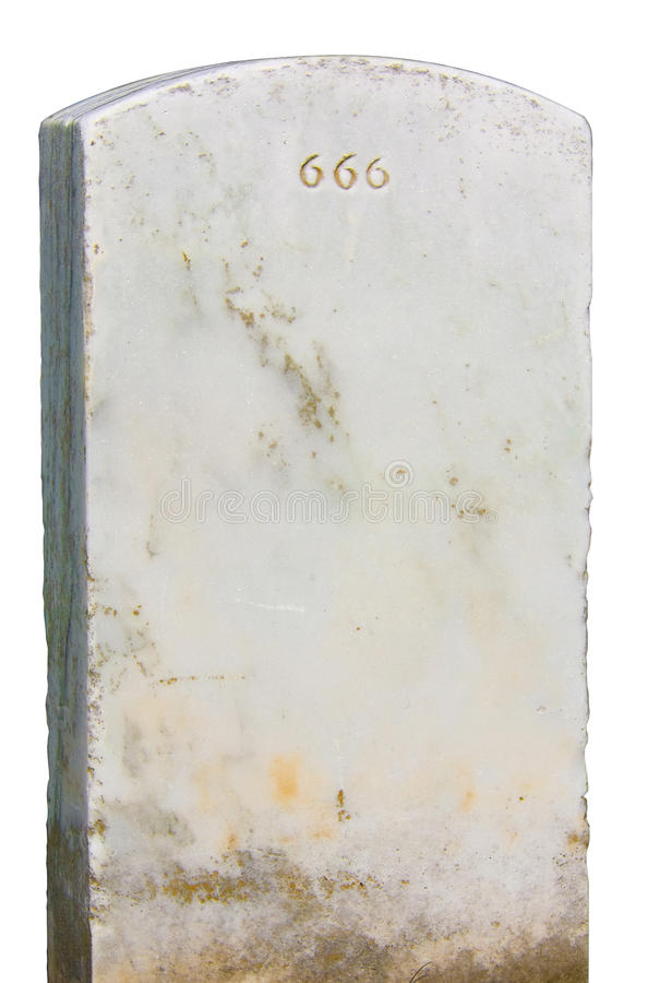 Grundstein 666 stockfotos