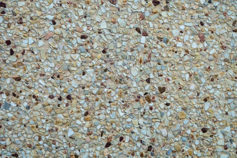Grundstein gewaschener Boden stockbild