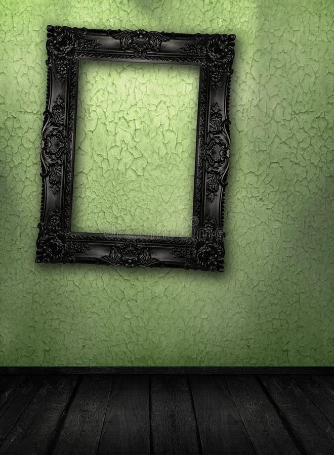 grunge内部空间 免版税图库摄影