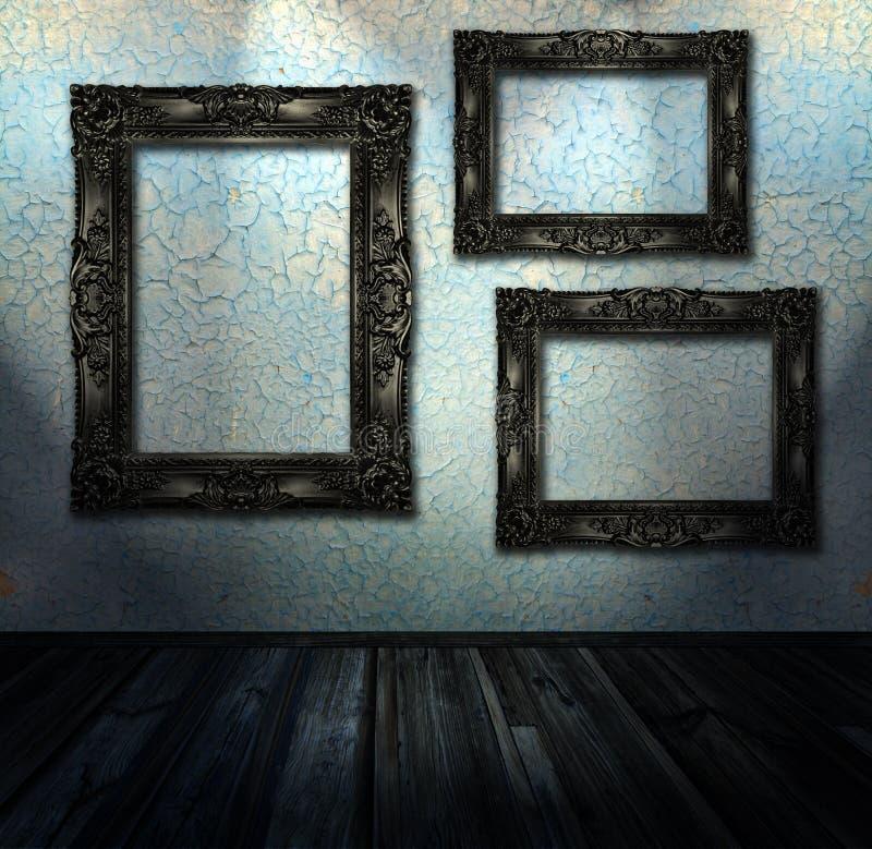 grunge内部空间 免版税库存图片