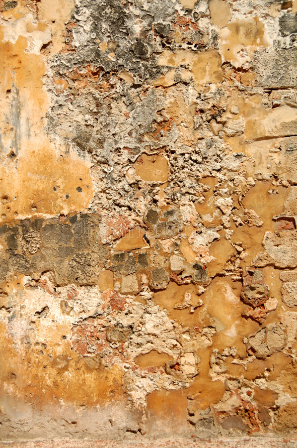 grunge墙壁 库存图片
