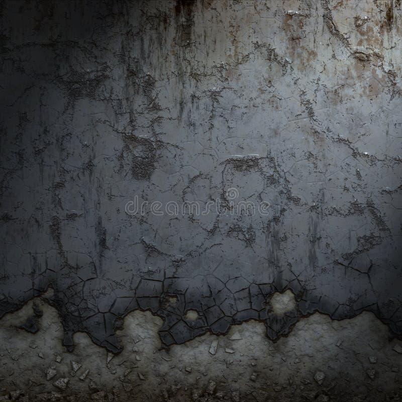 grunge墙壁 库存例证
