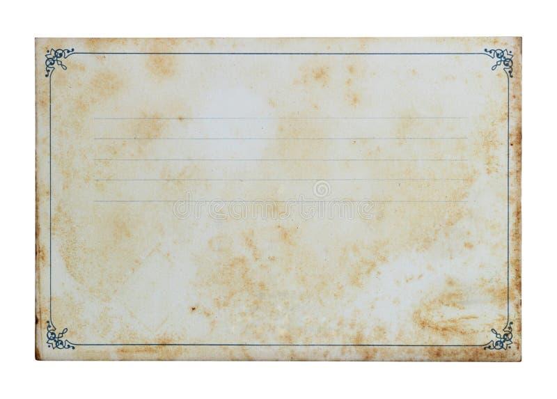 Grunge笔记本 库存照片