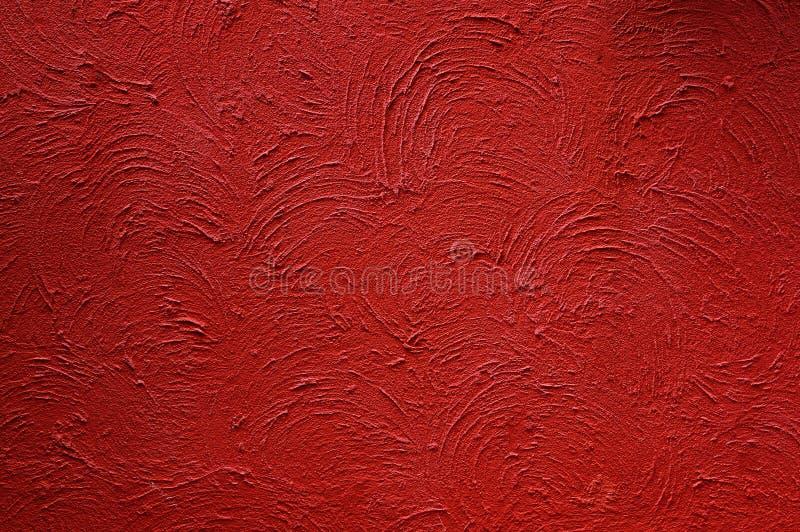 Grunge红色背景纹理 图库摄影