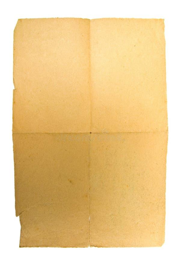grunge纸葡萄酒 免版税库存图片