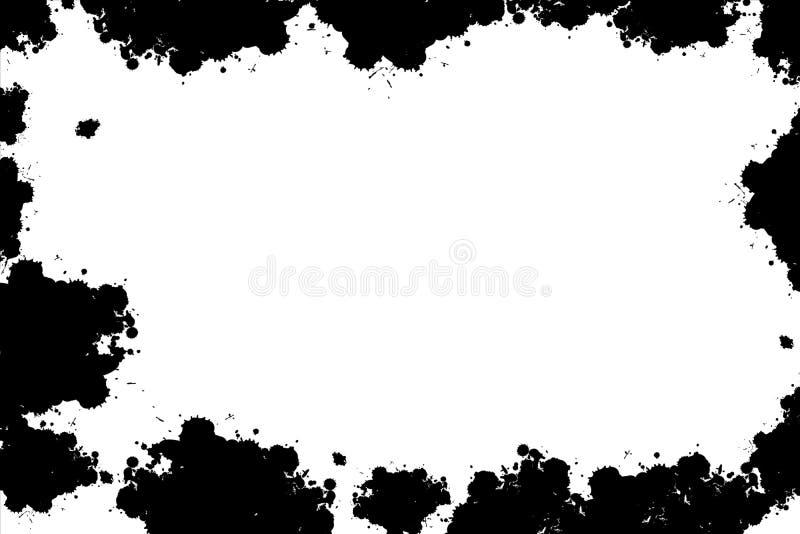 Grunge纹理框架 皇族释放例证
