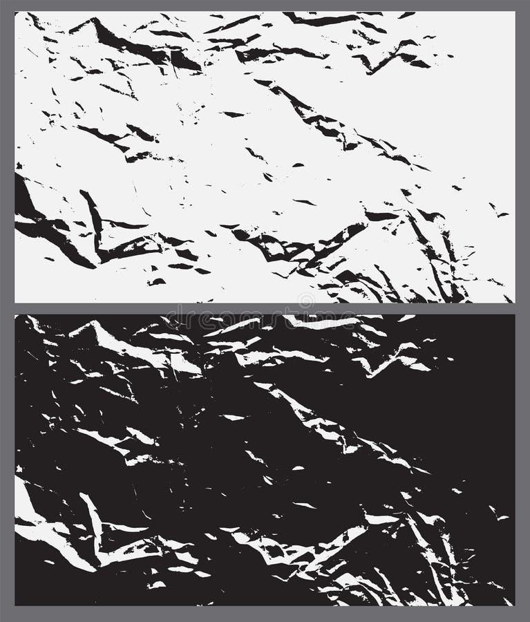 Grunge纹理背景 抽象老概略的纸设计 Vect 向量例证