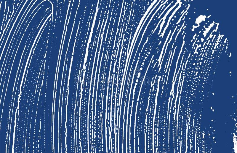 Grunge纹理 困厄靛蓝概略的踪影 非常好的背景 噪声肮脏的难看的东西纹理 财产 皇族释放例证